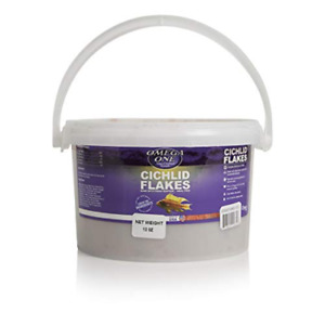 Omega One Cichlid Flakes, 12 oz 12 Ounce (Pack of 1)