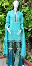 Pakistani Indian Designer Party Wear Gharara Pants M,L