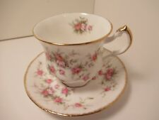 PARAGON ENG CHINA CUP & SAUCER VICTORIANA ROSE PRE OWNED EXCELLENT CONDITION