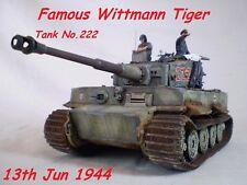 1/35 Built Wittmann's Tiger I Late w/Zimmerit  - Built 1/35 scale ( PRE ORDER)