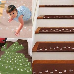 Lovely Self-adhesive Non-slip Carpet Stair New Luminous Mats Staircase Rug LD