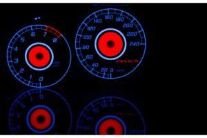Toyota Celica VII gen. glow gauges dials plasma dials kit tacho glow dash shift