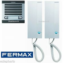 FERMAX CITY CLASSIC 6202 Kit completo Portero Automatico electronico 2 Lineas