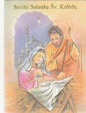 1 card 20420 - Lithuanian Christmas Greeting Card - lituanian lituaenisch