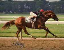 Easy Goer 1989 Belmont Stakes Photo #1 Signed Pat Day