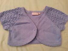 lotto 693 maglia coprispalle giacchetto cardican viola bimba bambina CYCLEBAND 6