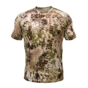 Kryptek Cammo Hoplite Hunting Outdoors Baselayer Wool Shirt Men's 2X 3X NWT