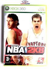 NBA 2K8 Xbox 360 Nuevo Precintado Videojuego Retro Sealed Brand New PAL/SPA