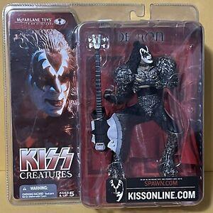 KISS Creatures Gene Simmons Demon McFarlane 2002 Figure Sealed RARE New Sealed