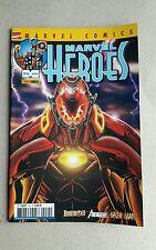 MARVEL HEROES ,Marvel France ,panini Comics ,état neuf ,numéro = 24