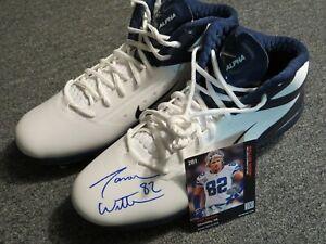 Jason Witten Signed Nike Alpha Cleat sz13 Autographed COA Dallas Cowboys colors