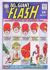 80 PAGE GIANT #4 VG 1964 LOOKS BETTER REPRINTS OF FLASH 105/110+2 EARLY SHOWCASE