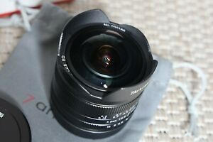 7artisans EF-M 7.5mm F2.8 II Ultra Weitwinkel Fisheye Objektiv für Canon EOS-M