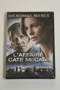 L'Affaire Cate Mccall - DVD Audio French E Ingles. New IN Blister