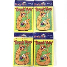 Nickelodeon Catdog Thank You Cards Cat dog 4 Packs 8 Cards Per Pack = 32 Total