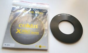 Cokin 67mm Genuine Professional Filter Holder Adapter Ring X-pro Series France