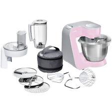 Bosch MUM58K20 Universal-Küchenmaschine CreationLine Gentle Pink / Silber