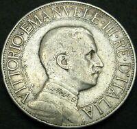 Moneta 2 lira Vittorio Emanuele III  Regno D'Italia     ( MR 005 )