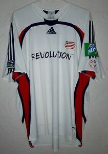 MLS New England Revolution Adidas 2006 Clint Dempsey Away Soccer Jersey