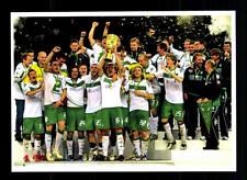 Werder Bremen Mannschaftskarte DFB Pokalsieger 2009
