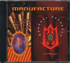 Manufacture Control Yourself RARE out of print CD EP '90