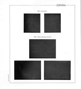 Hojas 1980-84 en bloques de 4 Edifil