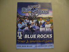 Wilmington Blue Rocks 2018 Ticket & Hospitality Guide - NEW