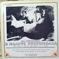 Paul Constantinescu O Noapte Furtunoasa Stormy Night Opera Electrecord ECE 0276