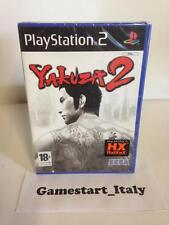 YAKUZA 2 - SONY PS2 PLAYSTATION 2 - NUOVO SIGILLATO - NEW SEALED PAL VERSION ITA