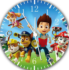 "PAW Patrol wall Clock 10"" will be nice Gift and Room wall Decor E45"