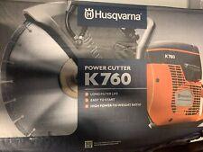 "Husqvarna K760 concrete saw 12"""