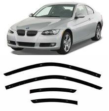 For BMW 3 Coupe E92 2006-2013 Window Visors Side Sun Rain Guard Vent Deflectors