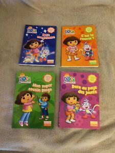 Lot De 4 Livres Dora 60 Pages