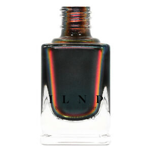 ILNP Eclipse - Black-to-Red Ultra Chrome Nail Polish