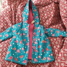 6-9 Months Girl Cute Raincoat coat jacket With Warmer Blue From Strawberry Faire