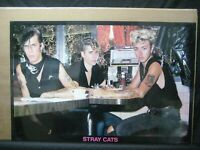 STRAY CATS ROCKABILLY ROCK VINTAGE POSTER GARAGE CNG1544