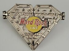Hard Rock Cafe Cleveland Rock & Roll Museum pin LE Heart Soul 2002 Beat plays on
