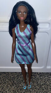 Barbie Raven African American AA Doll Mbili Face