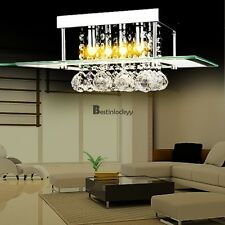 Mini Modern Crystal Ceiling Light Pendant Lamp Fixture Lighting Chandelier
