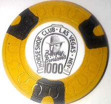 Binions Horseshoe $1,000 Obsolete horseshoemold casino chip