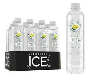 Sparkling Ice, Lemon Lime Water, with antioxidants and vitamins,...