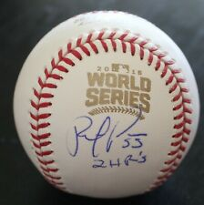 Roberto Perez Indians Signed Official 2016 World Series Baseball W/COA