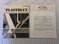 VINTAGE RARE 1968 PLASTRUCT CATALOG LOS ANGELES CA MODEL RAILROADING TRAIN PARTS