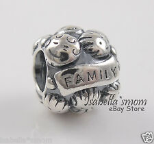 LOVE & FAMILY Authentic PANDORA Children~Parents~Kids~Mom~Charm/Bead 791039 NEW!