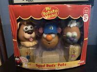 Mr. Potato Head Spud Buds Pets Pet Friends for Face Changing Fun!