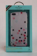 Kate Spade iPhone 7 plus iphone 8 Plus Case Confetti Dot Multi Color Clear OB