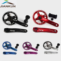 MTB Bike 104mmBCD Crankset BB 170mm Crank Narrow Wide Chainring 32-42T Chainset