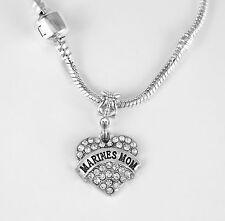 MarinesMom Necklace Marine Mom chain Marines Mom Present Marines Jewelry gift