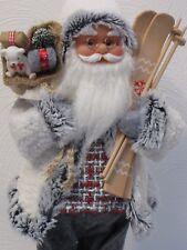 Santa Klaus 46cm Weihnachtsmann Bärchen Weihnachtsdeko Nikolaus SKI Weihnachten