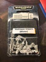 Astra Militarum Vostroyan Firstborn Snipers, 2 model blister - Warhammer 40k SDS
